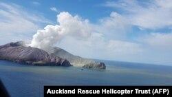 Erupcija vulkana na Bijelom otoku