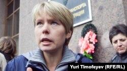 Russian opposition activist Yevgenia Chirikova