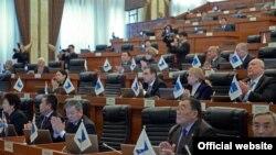 Қырғызстан парламенті. (Көрнекі сурет.)