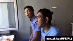 Арген Алыбаев менен Бакыт Осубеков