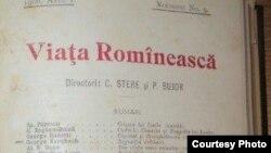 """""""Viața Românească"""", Iași (Sursă: Centrul de Cultură și Istorie Militară, Chișinău)"""