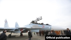 Прибытие Су-30СМ в Армению, 27 декабря 2019 г.