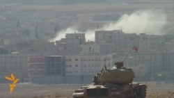 Explosions Rock Syrian Town Of Kobani Near Turkish Border