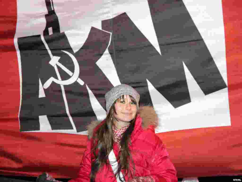 """Юная участница движения """"АКМ"""""""
