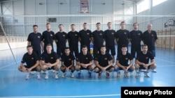 Македонската одбојкарска репрезентација.
