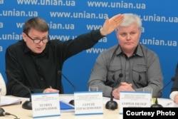 Сергій Герасименко та Сорен Петер Шмідт