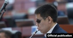 Kyrgyzstan - Parliament deputy Dastan Bekeshev