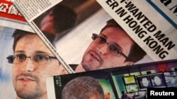 Edward Snowden i Barack Obama