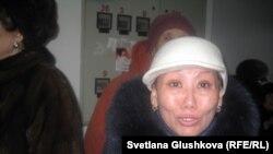 "Багдат Калиева, дольщица ЖК ""Байконур"". Астана, 30 января 2013 года."