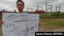 Экологический пикет в Омске