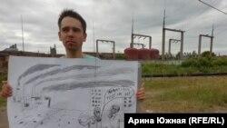 Экологический пикет в Омске, 21 июня.