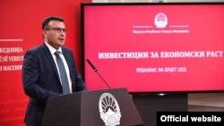 Премиерот Зоран Заев го презентираа Предлог за ребаланс на Буџетот за 2021 година
