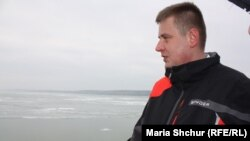 Чеський міністр закордонних справ Томаш Петржічек на борту корабля в Азовському морі, 29 січня, 2019