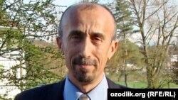 Узбекский диссидент Сафар Бекжан, живущий в Швейцарии.