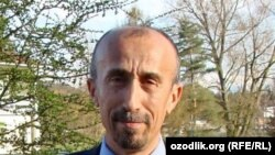 Узбекский диссидент Сафар Бекжан.