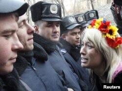 Одна з акцій FEMEN. Архівне фото.