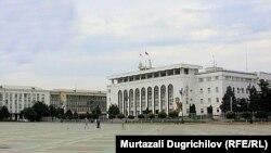 Pamje nga sheshi kryesor i kryeqytetit të Dagestanit, Mahaçkala