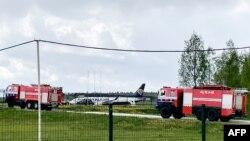 Aeroplani i Ryanair që u detyrua të ulej në Minsk të Bjellorusisë.