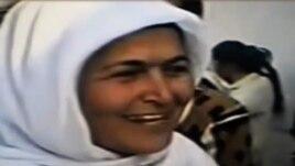 Ghalaty Barotova, a member of the Tajik Islamic Renaissance Party (undated; from video)