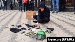 Цього разу акцію назвали «Гра Путіна з жертвами насильницьких зникнень»