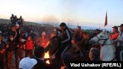 Kyrgyz Protest Near Kumtor Gold Mine