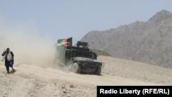 FILE: An Afghan army operation in Uruzgan.
