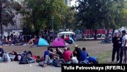 Ближневосточные беженцы в Белграде