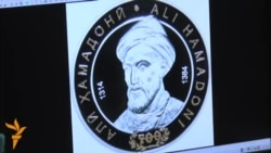 500-сомони – серебряные монеты с изображением Джоми и Хамадони