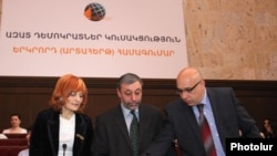 Armenia -- A congress of the Free Democrats party in Yerevan, 16Mar2012.