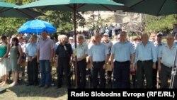 Годишна средба на Македонците протерани од Егејска Македонија во селото Трново во близина на Битола.