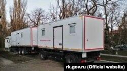 Передвижной медицинский комплекс для Ленинского района стоимостью 27,4 миллиона рублей
