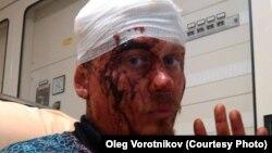 Олег Воротников в Венеции после конфликта с другими жильцами сквота