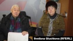 71-летняя Валентина Тарасова и 75-летний Владимир Тарасов. Астана, 7 февраля 2017 года.