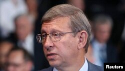 Russia – Chairman of conglomerate Sistema Vladimir Yevtushenkov attends the St. Petersburg International Economic Forum 2014 in St. Petersburg, May 23, 2014