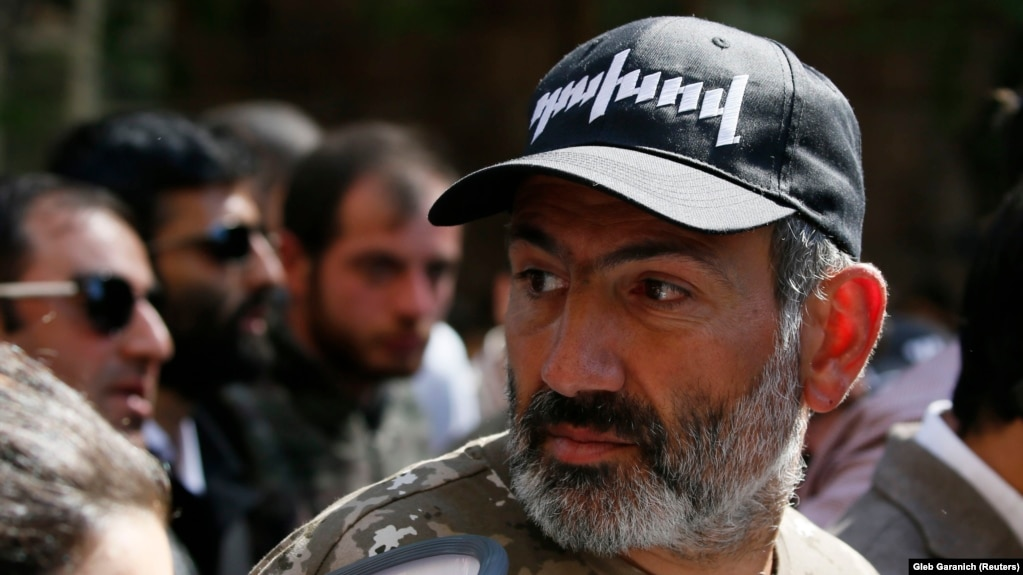 armenian protest leader pashinian says he s ready to rule if country