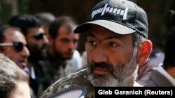 Lideri opozitar armen, Nikol Pashinian
