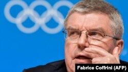 Presidenti i Komitetit Olimpik Ndërkombëtar,Thomas Bach.