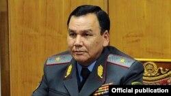 Министр внутренних дел Кыргызстана Кашкар Джунушалиев.