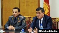 Кашкар Жунушалиев менен Сооронбай Жээнбеков