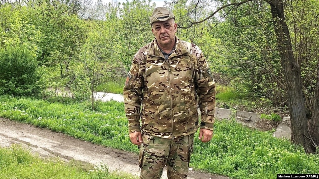 """Oleh Horbenko, a Ukrainian Army volunteer: """"You can't win this war by military means."""""""