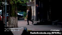 Із ГПУ виходять депутати Віталій Хомутиннік та Андрій Іванчук