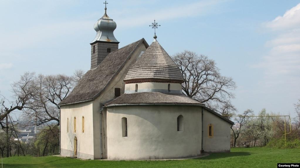 Церква Святої Анни в Горянах, передмісті Ужгорода