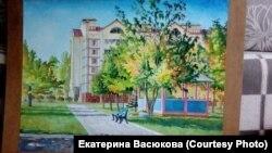 Картина Александра Глухоедова