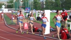 Banned Russian Athletes Compete In Alternative Games