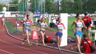 WATCH: Banned Russian Athletes Compete In Alternative Games