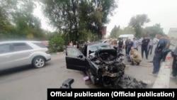 Чүй облусундагы кырсык болгон жер. 20-август, 2021-жыл.