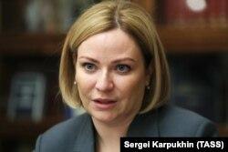 Ольга Любимова, министр культуры РФ.