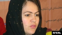 فوزیه کوفی رئیس کمیسیون زنان در ولسی جرگۀ افغانستان