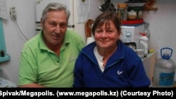 Panayot Zakharopulo and his wife, Irina -- pictured here at their home in Almaty in October 2009 -- were both found dead.