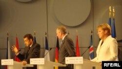 Пресс-конференция НАТО в Страсбурге, апрель 2009